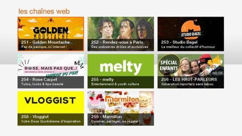 mosaïque tv web