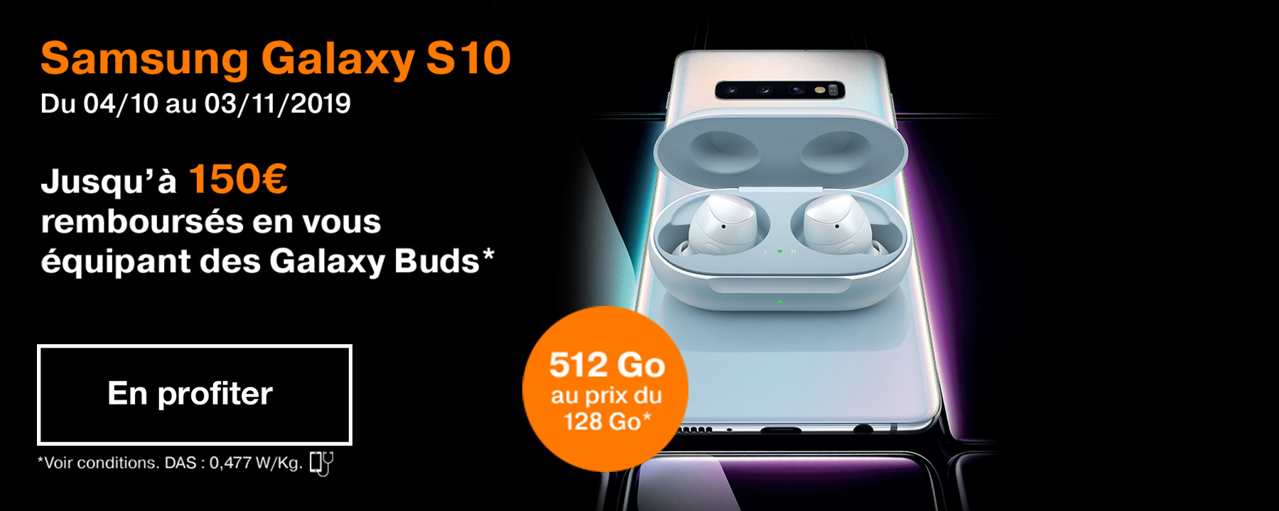 Bon plan Samsung Galaxy S10