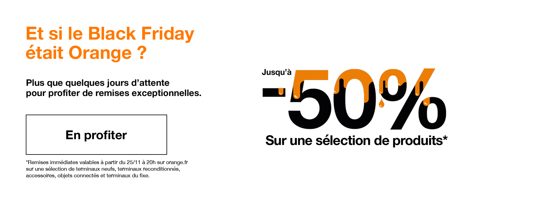 Et si le Black Friday était Orange ?