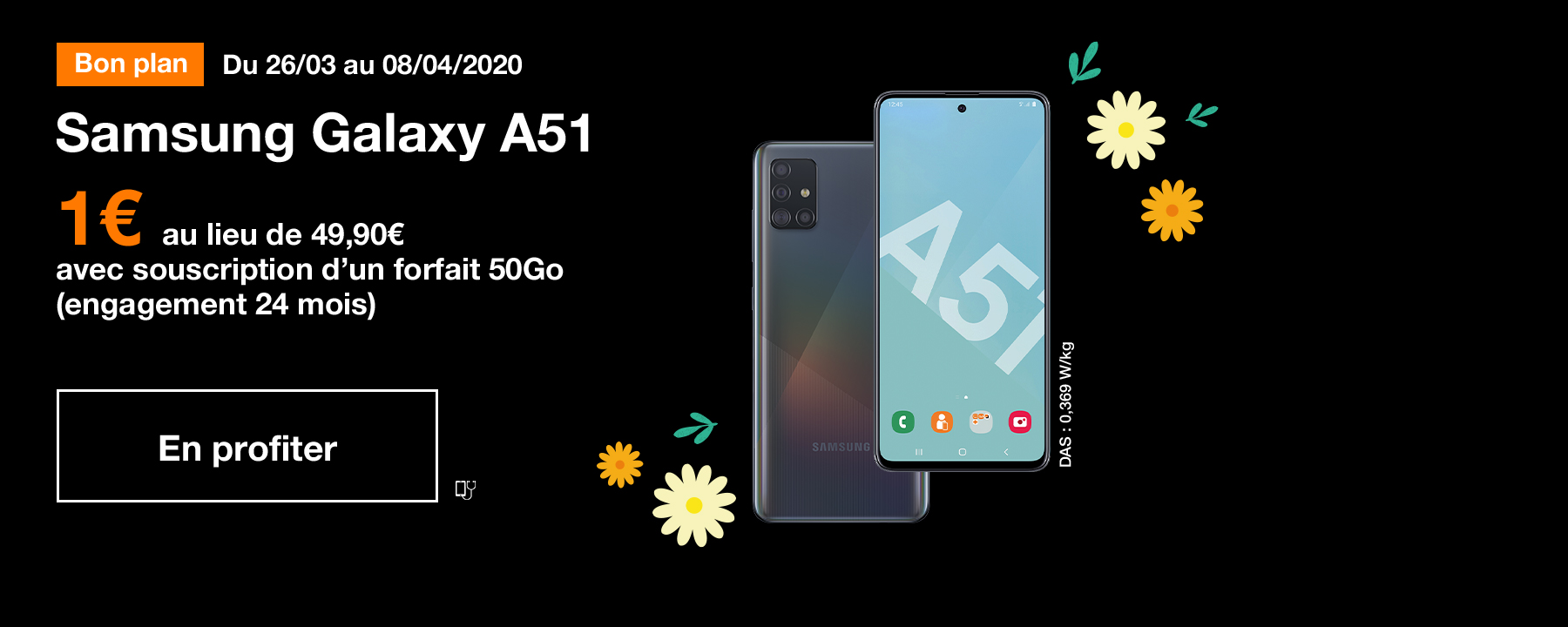 Bon plan Samsung Galaxy A51