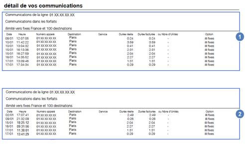 Facture fixe pro comprendre la premi re facture de l 39 offre optimale pro multi lignes - Orange optimale pro office ...