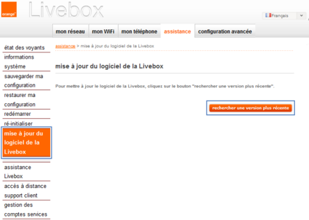 logiciel livebox sagem