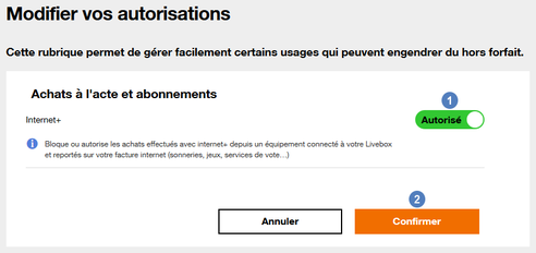 ordinateurs peripheriques installer et utiliser un service d orange les achats en ligne internet bloquer ou autoriser