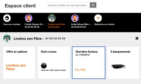 facture internet impay e r gulariser assistance orange. Black Bedroom Furniture Sets. Home Design Ideas