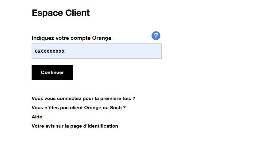 style populaire nouvelles images de en gros Espace client : vous identifier - Assistance Orange