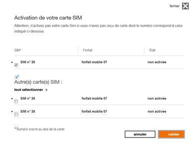 activer carte sim orange pro Carte SIM : activer la carte de votre offre mobile entreprise
