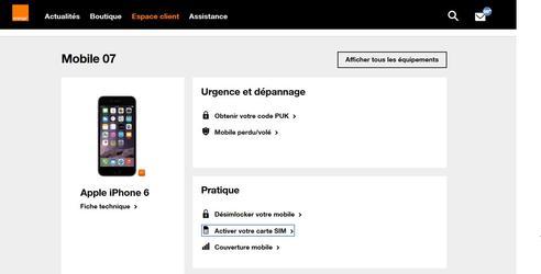 activer carte sim la poste Carte SIM : activer la carte de votre offre mobile entreprise