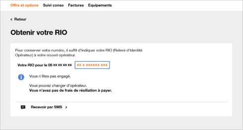 Portabilite Mobile Obtenir Le Rio Releve Identite Operateur
