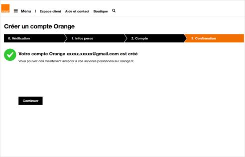 espace client pro cr er votre compte orange assistance orange. Black Bedroom Furniture Sets. Home Design Ideas