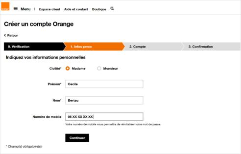 d40ba38df5788 Créer un compte Orange - Assistance Orange