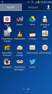 samsung galaxy grand 2 4g supprimer un compte mail assistance orange. Black Bedroom Furniture Sets. Home Design Ideas
