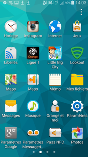 samsung galaxy s5 supprimer applications