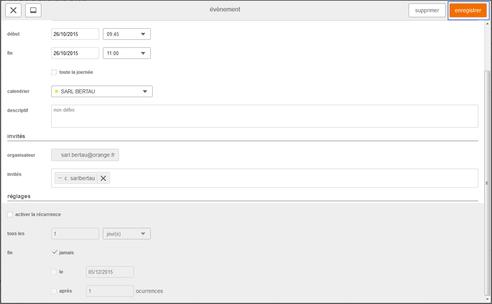 Orange Mail Pro : messagerie mail pro g rer un v nement dans le calendrier assistance orange ~ Maxctalentgroup.com Avis de Voitures