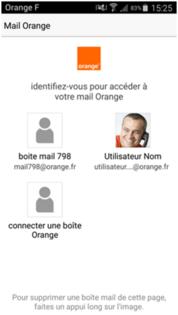 application boite mail orange pc