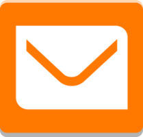 Logo application Mail Orange