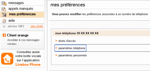t l phone par internet d sactiver votre messagerie vocale assistance orange. Black Bedroom Furniture Sets. Home Design Ideas