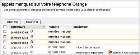 Messagerie Vocale Enrichie : écouter vos messages vocaux ...  Messagerie Voca...