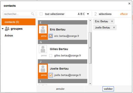 Messagerie mail orange envoyer un email assistance orange - Www espacedestinataire com ...