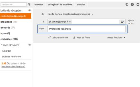 Mail Orange Nouvelle Version Rédiger Personnaliser Et