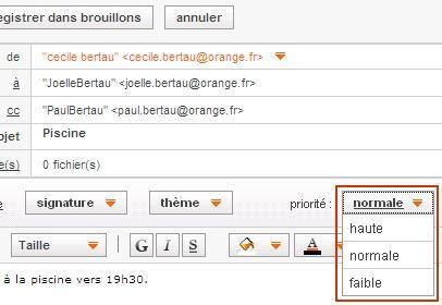messagerie mail orange envoyer un email assistance orange. Black Bedroom Furniture Sets. Home Design Ideas