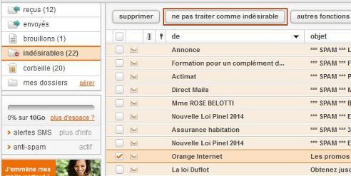 Messagerie Mail Orange Vous Ne Retrouvez Pas Certains De