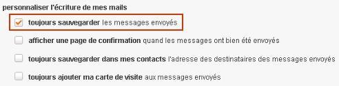 Lorsque Vous Envoyez Un Message Celui Ci Se Trouve Stock Dans Le Dossier Messages Envoys
