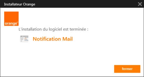 Notification mail orange pour windows 7