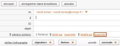 Messagerie mail orange envoyer un email avec une pi ce for Orange mail messagerie internet illimite