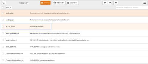 messagerie mail pro imprimer un message assistance orange. Black Bedroom Furniture Sets. Home Design Ideas