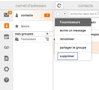 messagerie mail pro cr er un groupe de contacts assistance orange. Black Bedroom Furniture Sets. Home Design Ideas