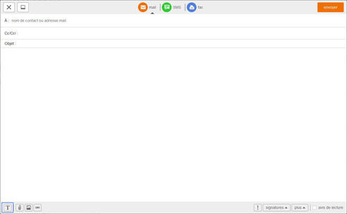 messagerie mail pro personnaliser le format du texte de vos mails assistance orange. Black Bedroom Furniture Sets. Home Design Ideas