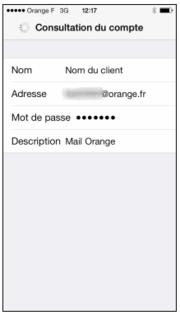 messagerie pro ios configurer un compte pro avec un mail de soci t assistance orange. Black Bedroom Furniture Sets. Home Design Ideas
