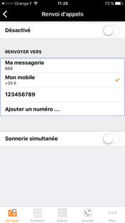 My office phone activer un renvoi d 39 appels assistance orange - Orange optimale pro office ...