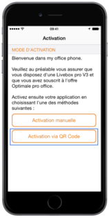 My Office Phone (iOS) : installer sur le mobile - Assistance