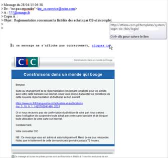 Phishing Exemples Concrets Assistance Orange