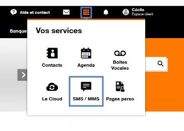 b9b515beaa9a5b SMS/MMS sur orange.fr : recevoir et lire un SMS ou un MMS ...
