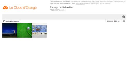 le cloud d orange site web partager des fichiers assistance orange