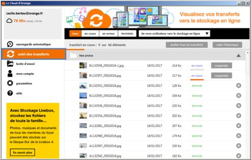 Le meilleur: logiciel cloud orange