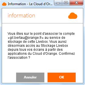 9e7b780906a Remarque   le titulaire de l option Stockage Livebox et l utilisateur  reçoivent automatiquement un email (ou un SMS) de confirmation.