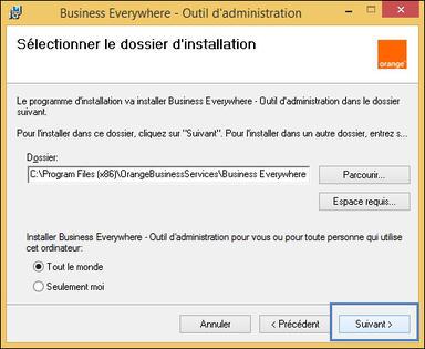 fichier de configuration business everywhere