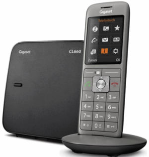 Siemens Gigaset Cl660 Cl660a Assistance Orange
