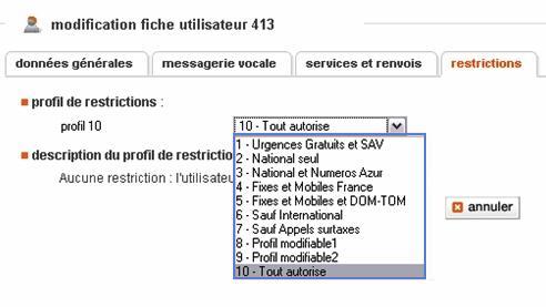 Business livebox configurer les droits des utilisateurs du r seau t l phonique assistance orange - Orange optimale pro office ...