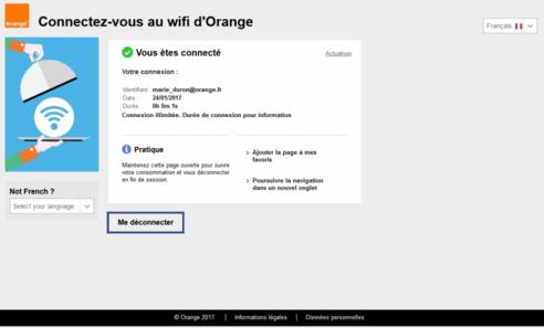 hotspot wifi d 39 orange se connecter en tant que client internet assistance orange. Black Bedroom Furniture Sets. Home Design Ideas