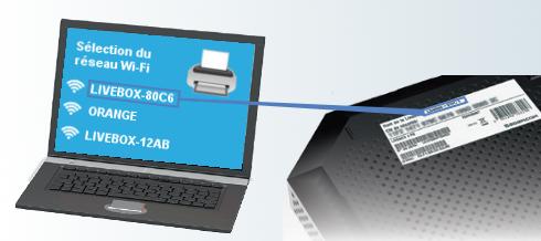 imprimante connecter en wifi sur la livebox pro assistance orange. Black Bedroom Furniture Sets. Home Design Ideas