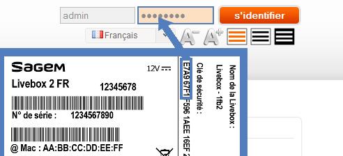 Livebox 2 acc der l 39 interface de configuration assistance orange - Avoir internet sans box ...