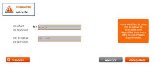 livebox play v rifier vos identifiants de connexion assistance orange. Black Bedroom Furniture Sets. Home Design Ideas