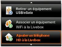 t l phone hd pro installer avec la livebox pro v3 assistance orange. Black Bedroom Furniture Sets. Home Design Ideas