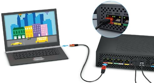 livebox pro v4 connecter votre ordinateur en ethernet assistance orange. Black Bedroom Furniture Sets. Home Design Ideas