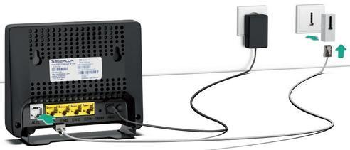 modem adsl 2704 installer et connecter assistance orange. Black Bedroom Furniture Sets. Home Design Ideas