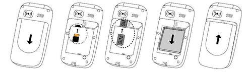 doro 6050 carte sim Doro Phone Easy 632 S : introduire la carte SIM   Assistance Orange